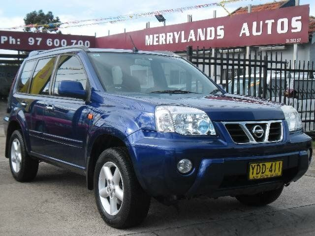 I finally traded in Athena, the old menopausal Holden Apollo my Luciano the 2002 Nissan X-Trail T30 TI (4X4) Blue 4 Speed Automatic Wagon
