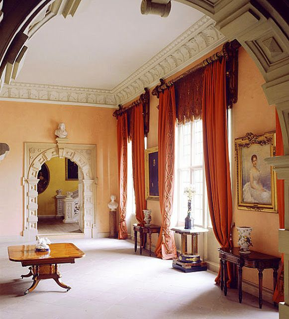 Thornby hall country house interiors