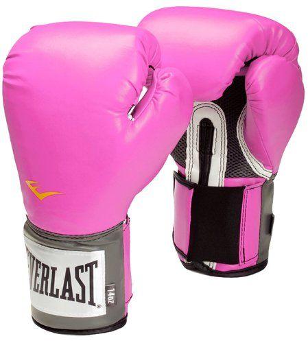 Boxhandschuhe PINK! Weil ich ein Mädchen bin! :-)
