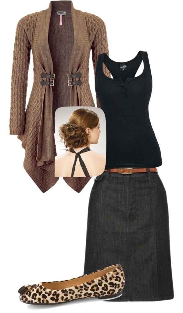 """""""browns and black"""" by brandyswife ❤ liked on Polyvore"""