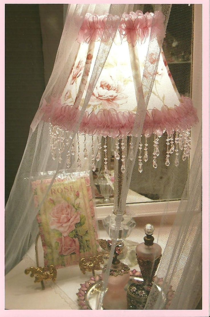 17 best ideas about shabby chic lamps on pinterest candlesticks vintage fl - Shabby vintage gustavien ...