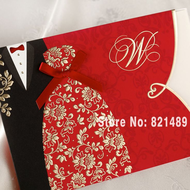 civil wedding invitation card%0A Cheap postcard custom  Buy Quality card postcard directly from China  greeting cards Suppliers  Red Wedding Invitation Card Greeting Card  Postcard Customize