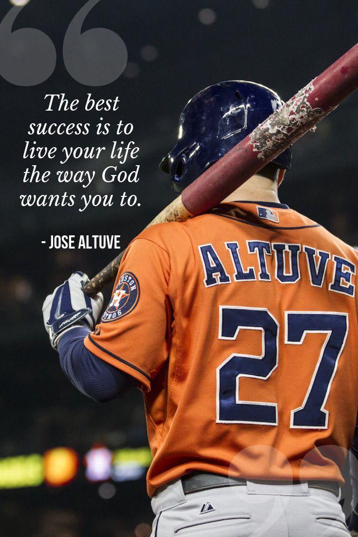 Defining Success Jose Altuve Quotes Houston Astros Jose Altuve Houston Astros Astros Baseball