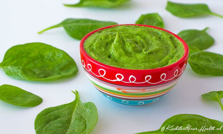 Spinazie pesto (vegan) | KickstartYourHealth