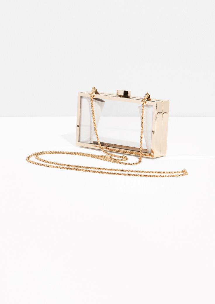 & Other Stories | Transparent Clutch