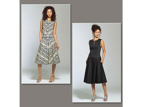 Schnittmuster Vogue 2900 Kleid - Vogue Schnittmuster Kleider - im Online-Shop  günstig kaufen