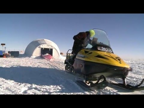 Roosevelt Island Ice Core Drilling - YouTube