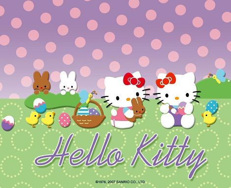 - Fotos de Hello Kitty de Pascua