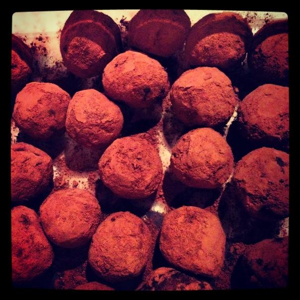 bittersweet vegan chocolate truffles | Chocolate | Pinterest