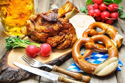 "Say ""Willkommen"" to #Oktoberfest in Mumbai with a traditional Bavarian feast of German Pretzels, Pork Kransky and an abundance of German beers."