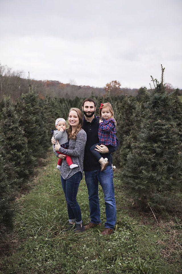 Elegant Christmas Session At A Christmas Tree Farm In Cincinnati Ohio    Www.akakeb.com