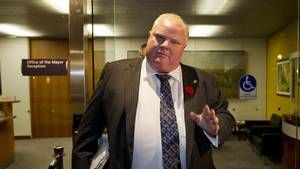 Toronto Mayor Rob Ford admitted Tuesday to smoking crack cocaine. (via Globe and Mail)