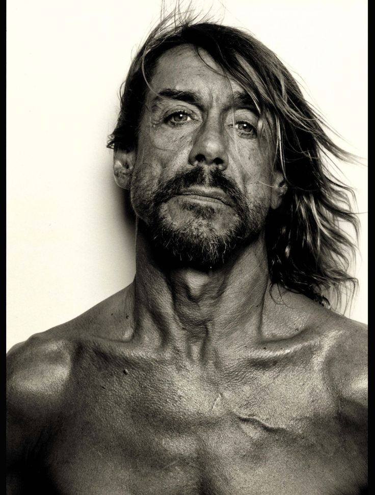 Iggy Pop by Frank W. Ockenfels