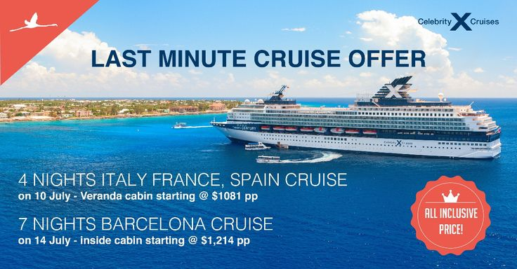 Last minute Cruise offer!  Best value for money! | أفضل قيمة للمال ! Book now, save more: | احجز الآن، ووفر أكثر Call: +971 800 ITL (800 485) |E mail: uae@itlworld.com |Whats app: +971 528 455222  #ITLWorld #Cruise #CelebrityCruise #luxuryCruise #Sail #CruiseOffer