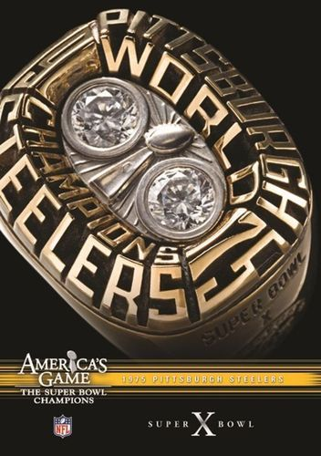 NFL: America's Game - 1975 Pittsburgh Steelers - Super Bowl X [DVD]