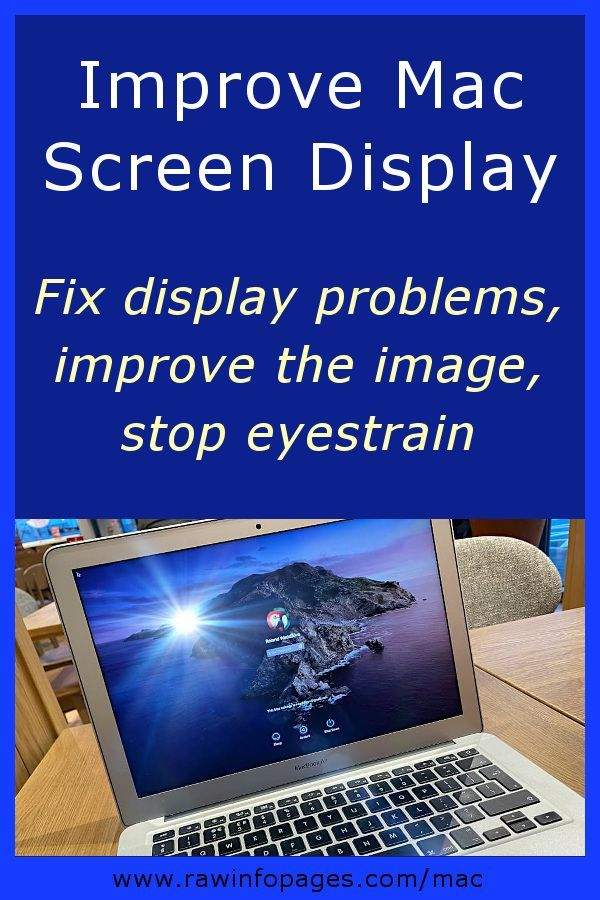 Do You Suffer With A Blurry Macbook Screen Solve It In 2020 Macbook Macbook Hacks Eyestrain