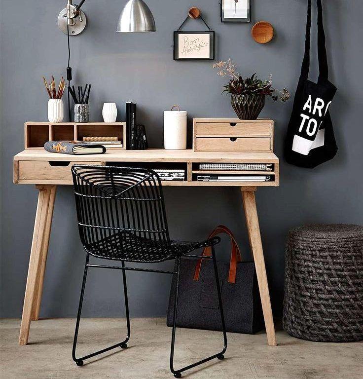 Die besten 25+ Kleiner schreibtisch Ideen auf Pinterest - arbeitsplatz drucker wohnzimmer verstecken