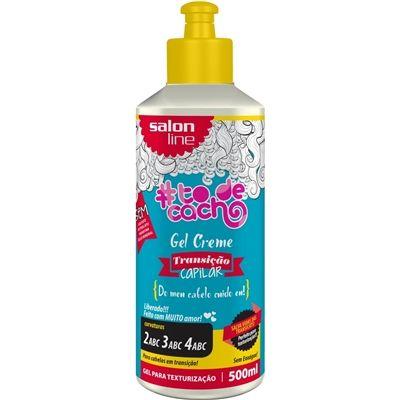 Gel Creme #Todecacho Transição Capilar - Do meu cabelo cuido eu! - Salon Line 500ml