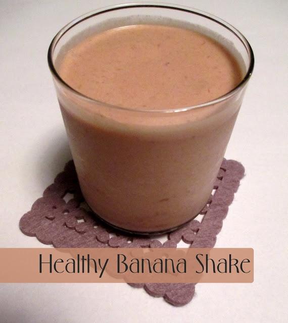 Healthy Banana Shake Recipe