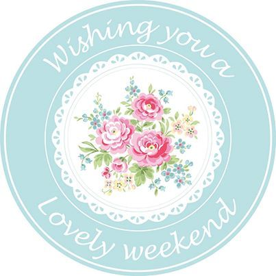 ♔ Wishing you a lovely weekend! ♡ and thank you for your follows! ♡