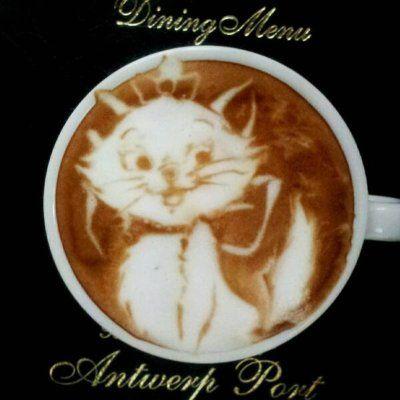 Japanese Cat Art | Catsparella: Incredible Cat Latte Art From Japan