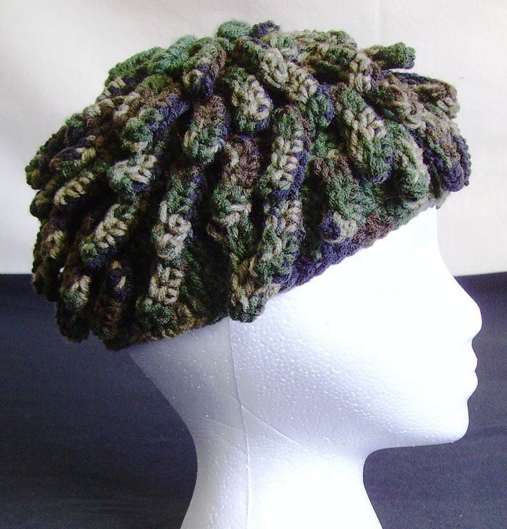 Knitting Pattern For Nudu Hat : my camo version of ZZ Tops lead guitarist/singer Billy Gibbons nudu hat....