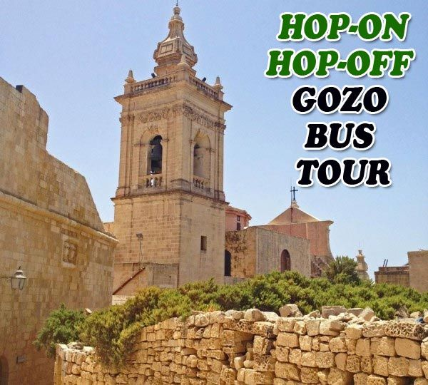 """We took a """"Hop-on Hop-Off"""" bus tour around Gozo, Malta.  Read all about it."""