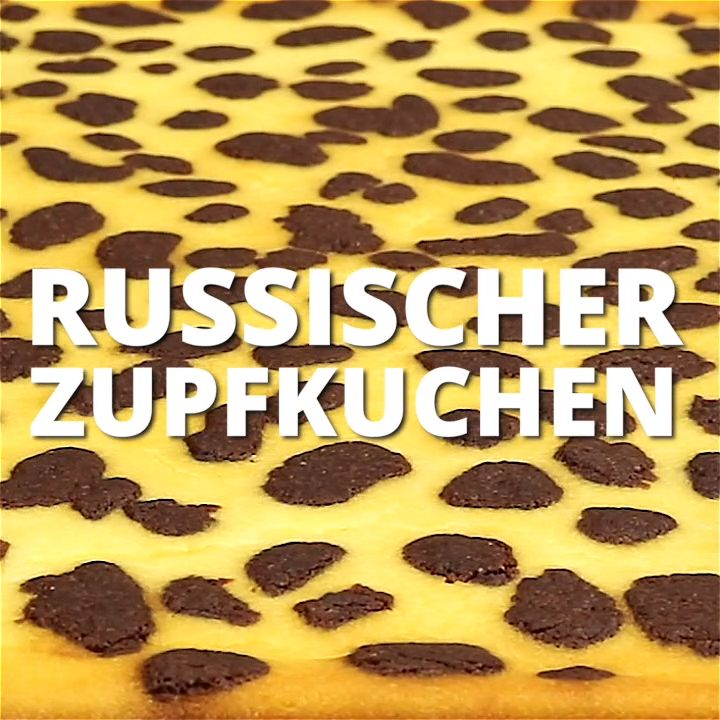 Russischer Zupfkuchen vom Blech für den Kindergeburtstag