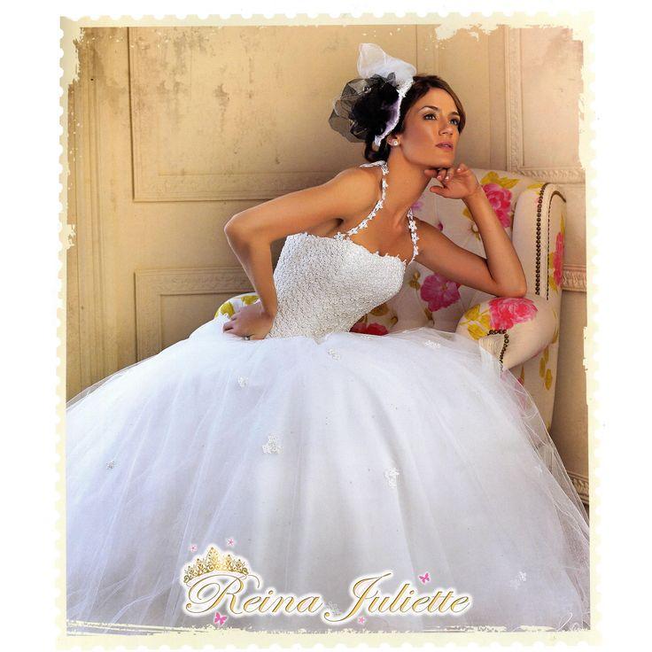 Vestido de Novia Romántico.. Ideal para Bodas al aire libre.