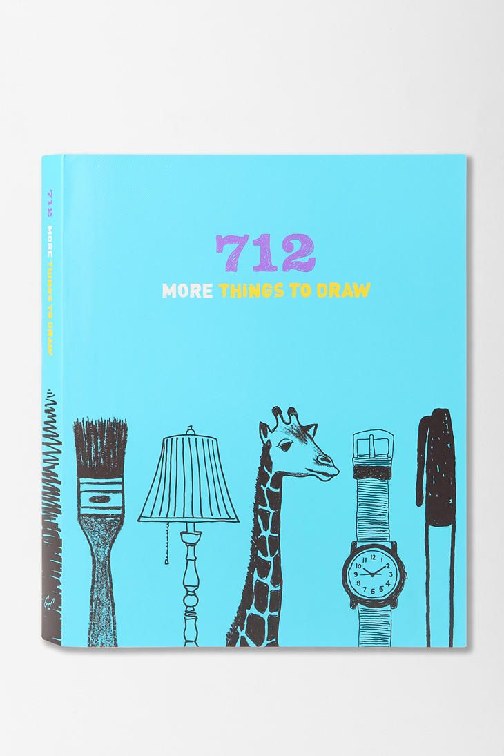 712 More Things To Draw Journal By Chronicle Books