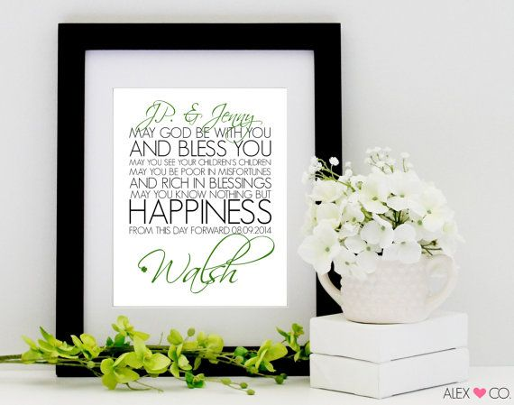 Traditional Irish Wedding Gifts: 17 Best Ideas About Irish Wedding Blessing On Pinterest