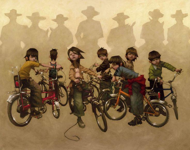 The Magnificent Seven by the brilliant Craig Davison