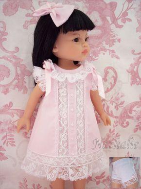 Robe Rose Petite Culotte ET Noeud Pour Poupée Paola Reina Little Darling   eBay