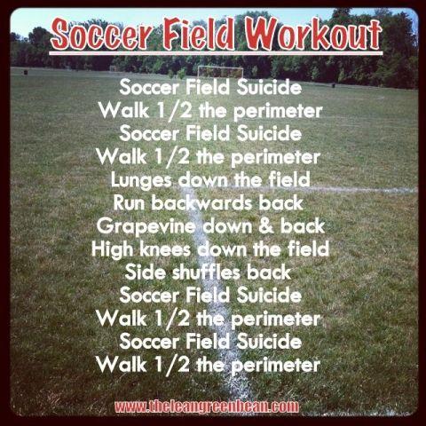 Soccer workout