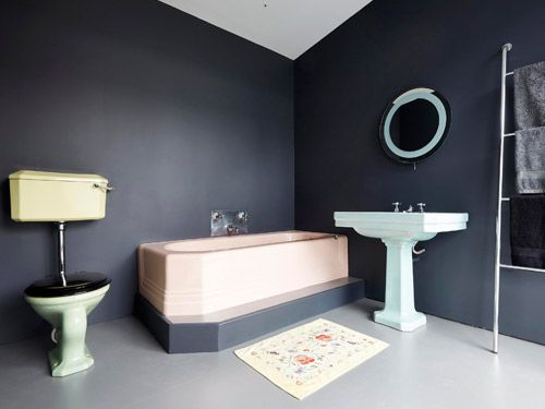 Bathroom featured in Grand Designs