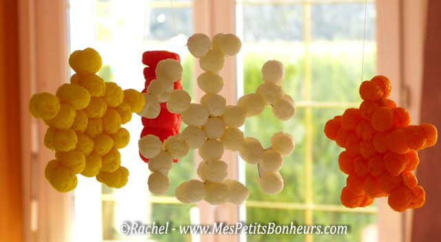 Flocons et étoiles en Play Maïs!