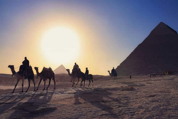 And no, they're not all of the pyramids.