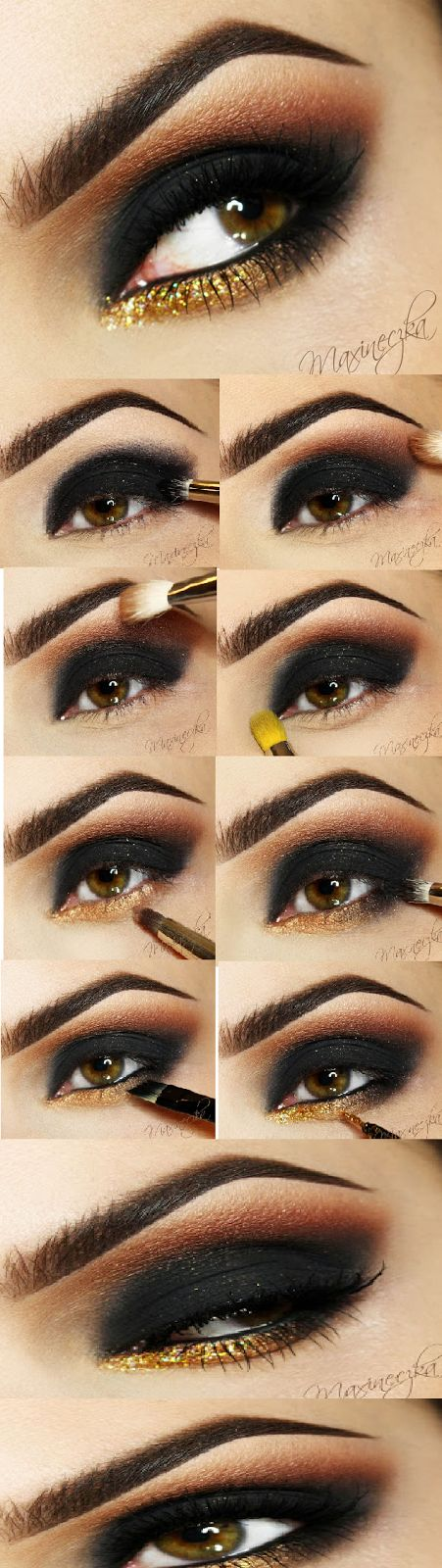 Sexy Smokey Eyes Makeup # Night Party look / Best LoLus Makeup Fashion