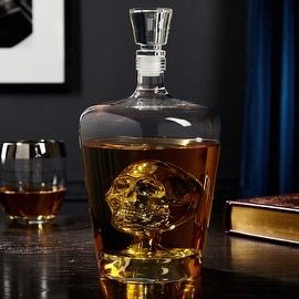 Shop for Phantom Skull Decanter for Liquor. Free Shipping on orders over $45 at Overstock.com - Your Online Kitchen & Dining Outlet Store! Get 5% in rewards with Club O! - 19024037