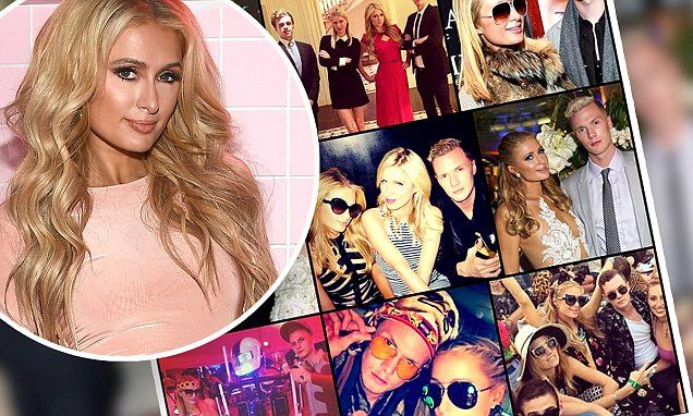 Paris Hilton wishes brother Barron a happy birthday with flashback collage on Instagram   Daily Mail Online