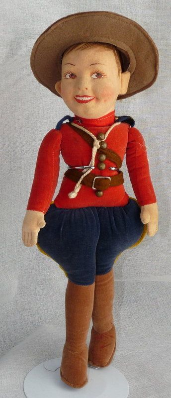 Oh Canada! Norah Wellings Canadian Mountie, Charmer from ~ BUNNY'S BABIES ~ found @Doll Shops United http://www.dollshopsunited.com/stores/BunnysBabies/items/1285728/Oh-Canada-Norah-Wellings-Canadian-Mountie-Charmer #dollshopsunited