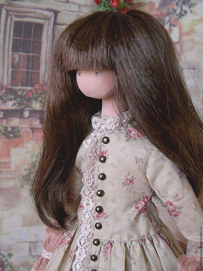 110Как сделать для куклы прическу бантик из