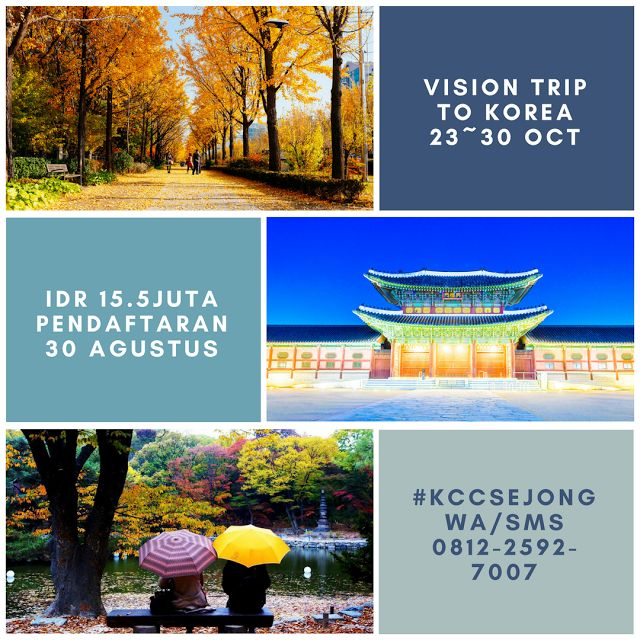 Liburan Korea Musim Gugur di Seoul - KCC Sejong