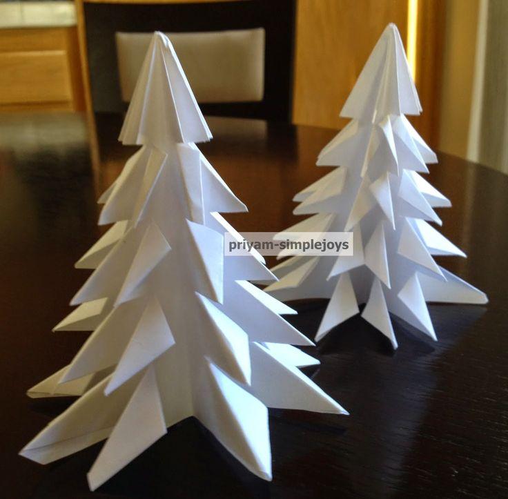 SimpleJoys: Paper Pine Tree/Christmas Tree