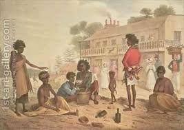 augustus earle Sydney Street scene early 1800's