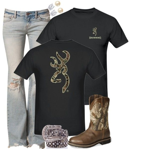 Browning, created by hotcowboyfan on Polyvore