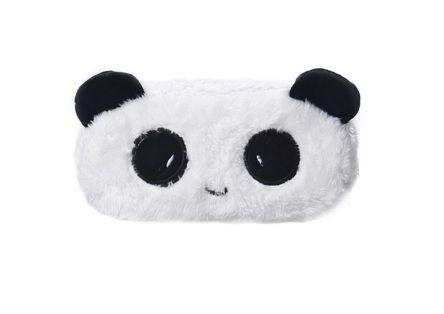 Sevimli Panda Desenli Peluş Kalemlik