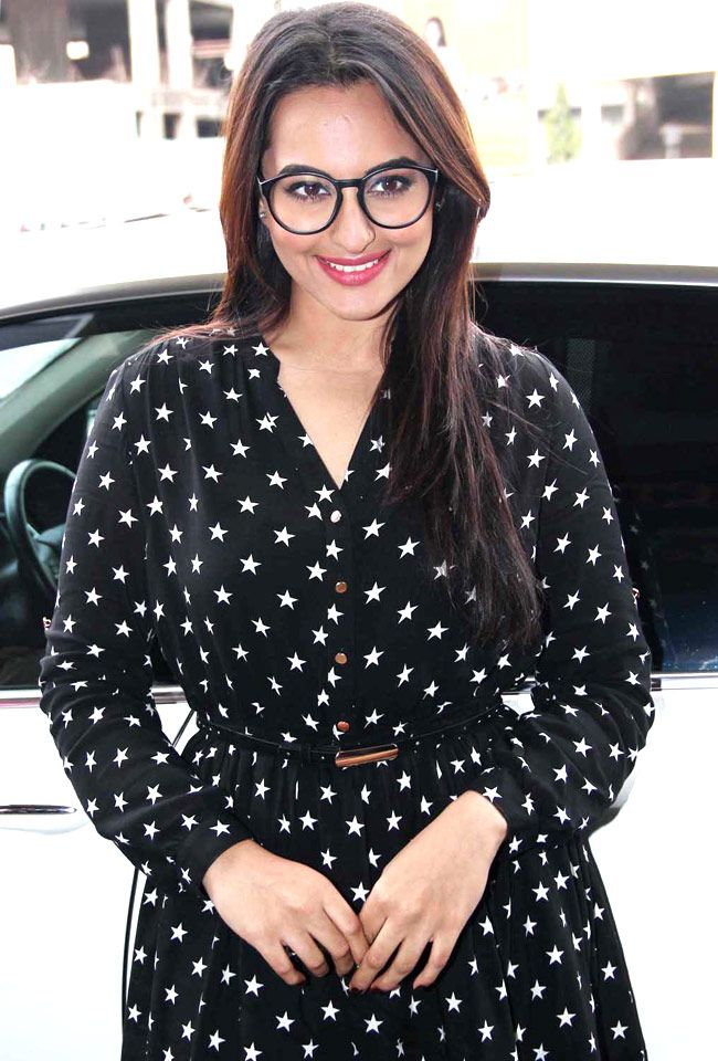 Sonakshi Sinha at the screening of 'Rio 2'. #Style #Bollywood #Fashion #Beauty