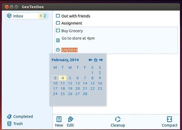 Gerenciador de tarefas: Instale o GeeTeeDee no Ubuntu e derivados - Blog do Edivaldo
