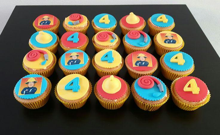 Brandweerman sam cupcakes
